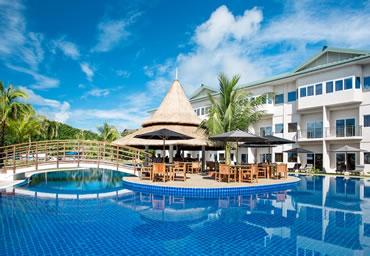 パラオのホテル:コーブリゾート・パラオ。パラオ旅行のホテル選びは、パラオ旅行専門店ナイスデイツアーにおまかせください。